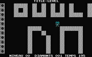 Boulder Dash! atari screenshot